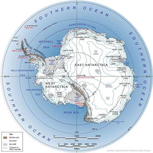 Mapa-fisico-de-la-Antartida